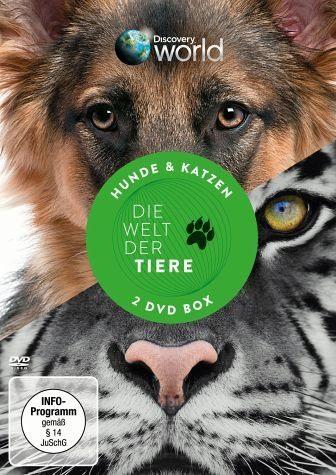 DVD »Discovery World - Die Welt der Tiere: Hund &...«