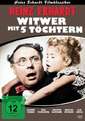 DVD »Heinz Erhardt - Witwer mit 5 Töchtern«