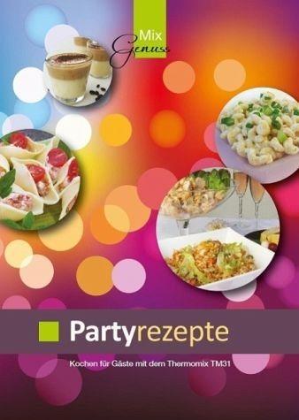 Broschiertes Buch »Partyrezepte«