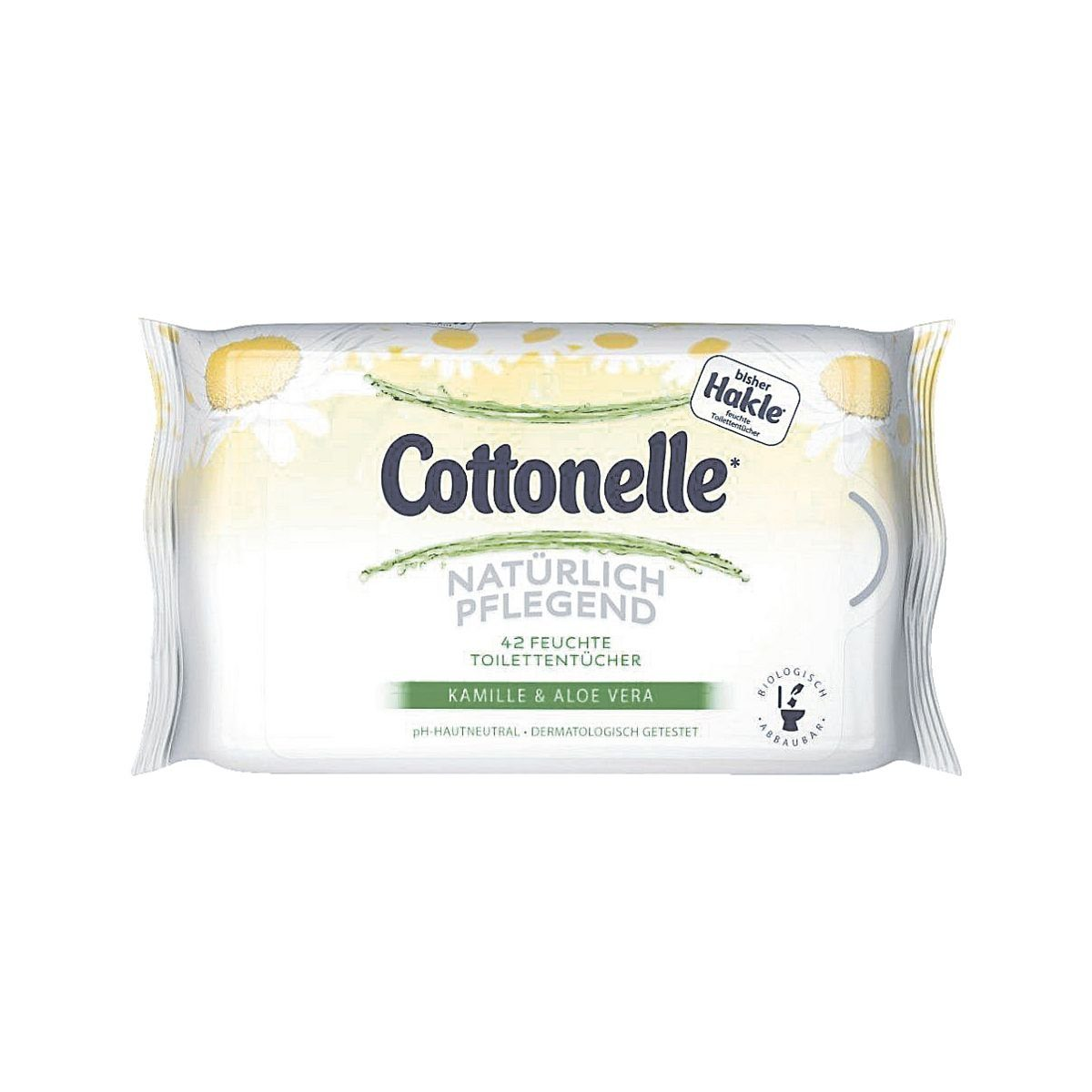 HAKLE Feuchte Toilettentücher »Cottonelle Kamille & Aloe Vera«