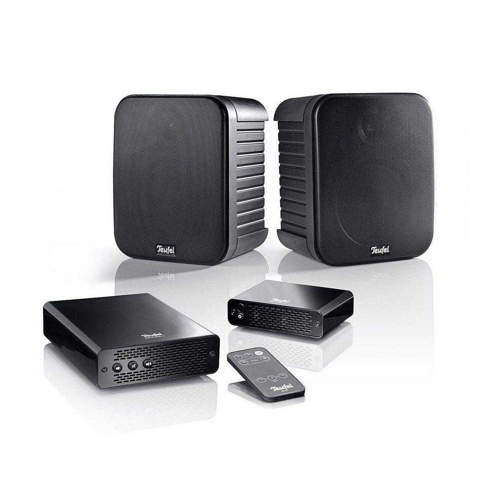 Teufel Stereo Lautsprecher »Omniton 202 Wireless« in Schwarz