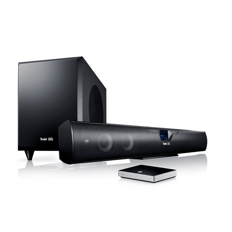 teufel heimkino soundbar cinebar 52 thx streaming online kaufen otto. Black Bedroom Furniture Sets. Home Design Ideas