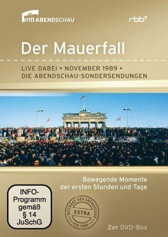 DVD »Der Mauerfall - Live dabei - November 1989 (2...«