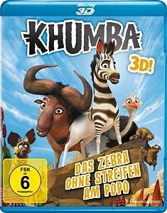 Blu-ray »Khumba - Das Zebra ohne Streifen am Popo...«