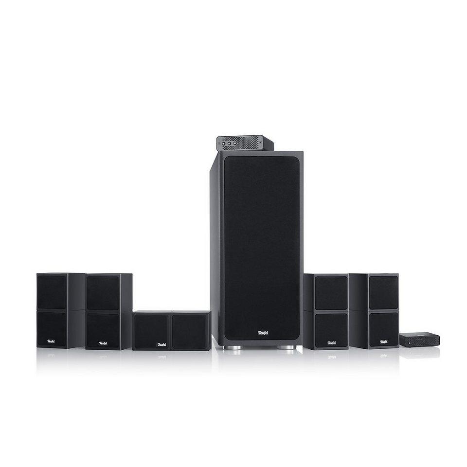 Teufel Heimkino Lautsprecher »Cubycon 2 Wireless 5.1-Set« in Schwarz