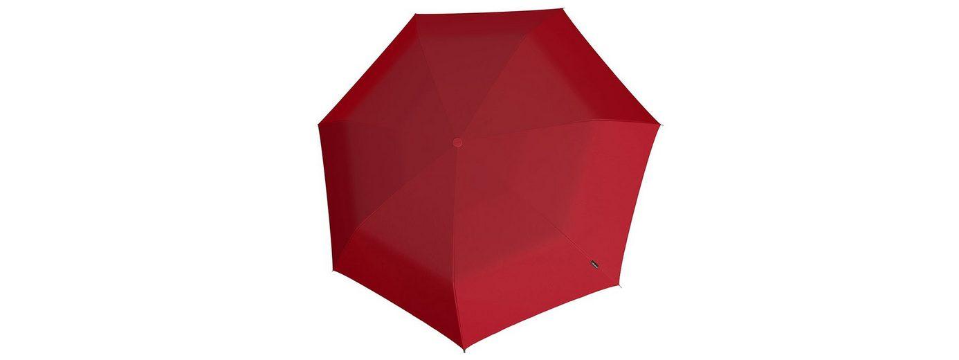Knirps Mini Taschenschirm, »Piccolo - Rot«