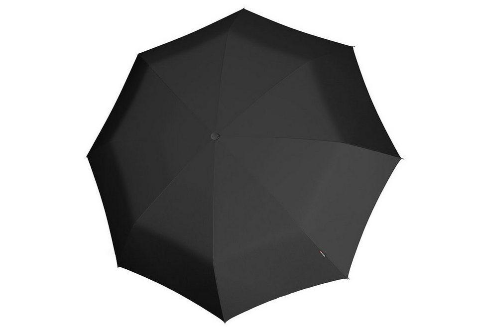 Knirps Taschenschirm für Zwei, »Big Duomatic« in schwarz