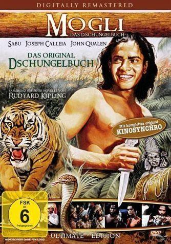 DVD »Mogli - Das Dschungelbuch«