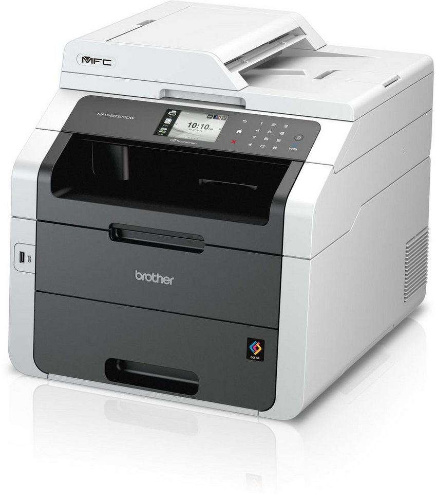 Brother Farblaser-Multifunktionsdrucker »MFC-9332CDW 4in1« in Grau