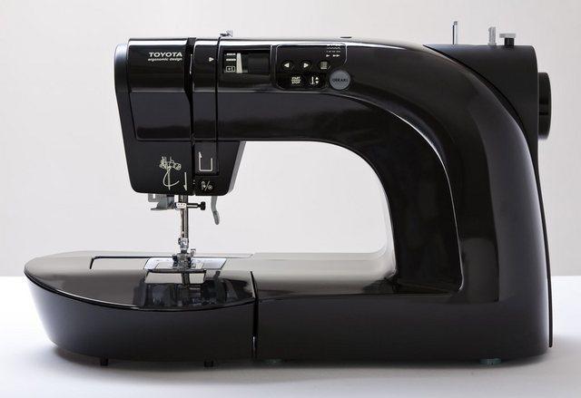 TOYOTA Computer-Nähmaschine Oekaki 50B, 50 Programme, 50 Programme, mit Zubehör | Flur & Diele > Haushaltsgeräte > Strick und Nähmaschinen | Schwarz | Toyota