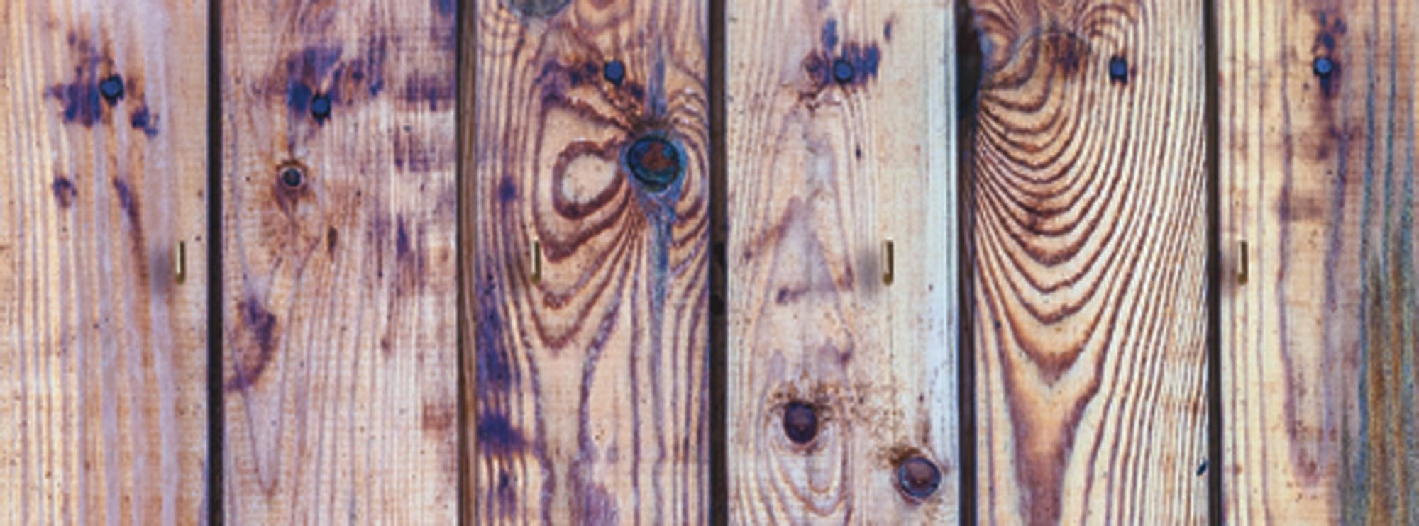 Schlüsselbrett, Home affaire, »Alte Holzwand«, 40/15 cm