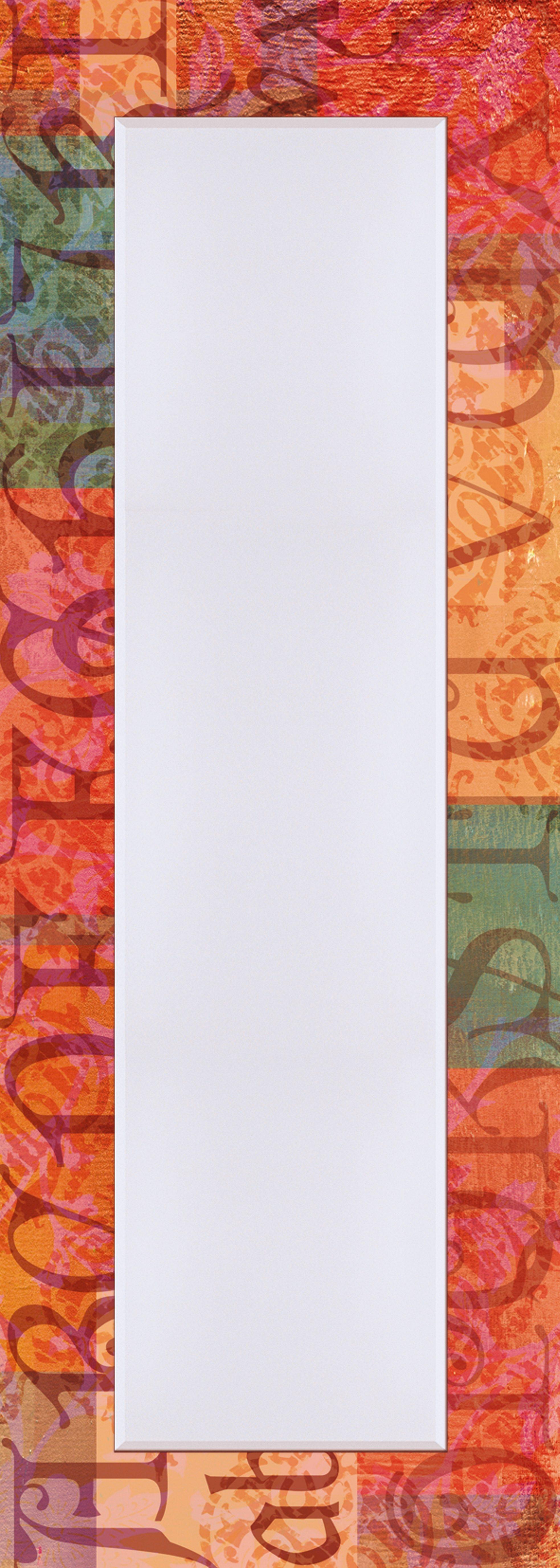 Wandspiegel, Home affaire, »Typograph«, 50/140 cm