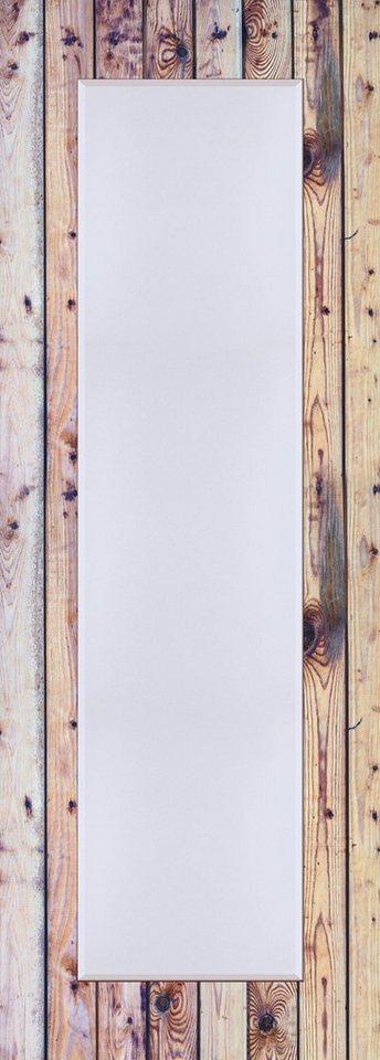 Wandspiegel, Home affaire, »Alte Holzwand«, 50/140 cm in Creme