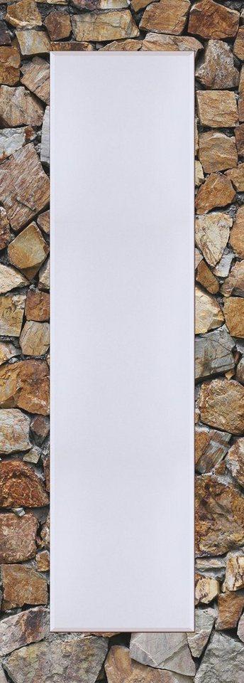 Wandspiegel, Home affaire, »Braune Steinwand«, 50/140 cm in Bunt