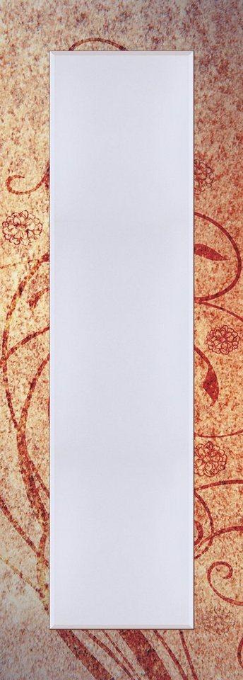 Wandspiegel, Home affaire, »Florale Ornamente«, 50/140 cm in Rot