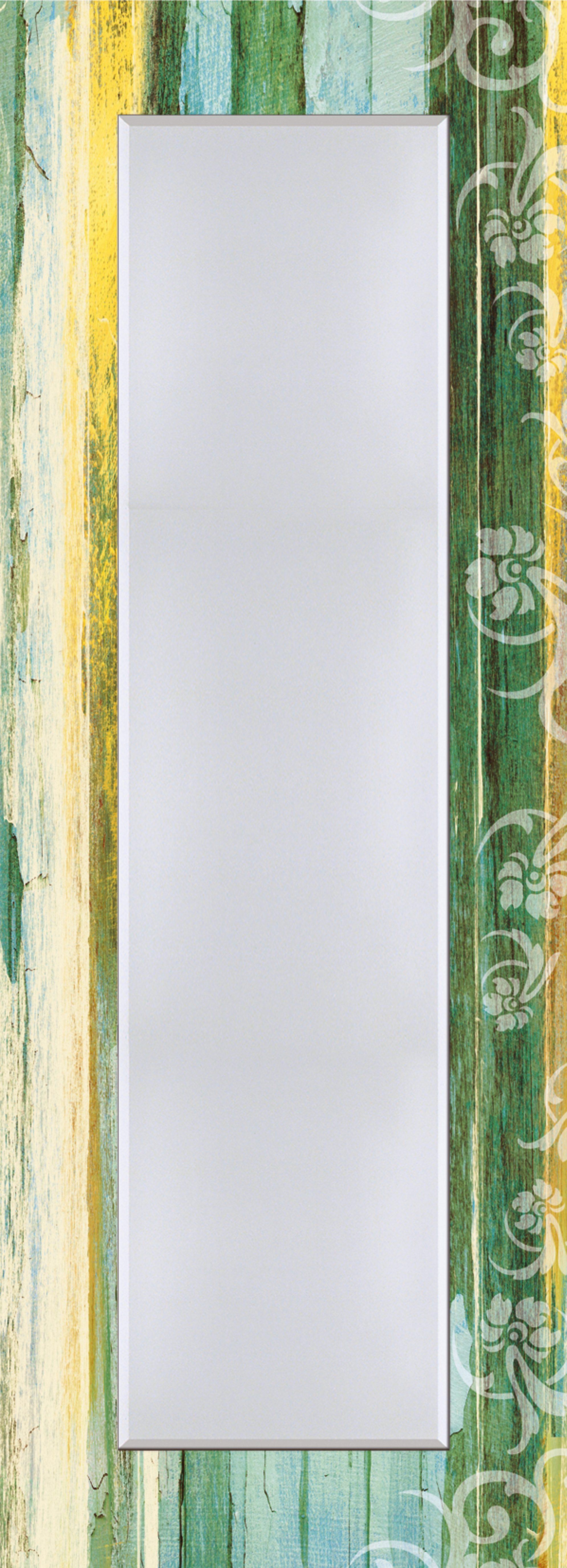 Wandspiegel, Home affaire, »Blumenornamente im modernen Stil«, 50/140 cm