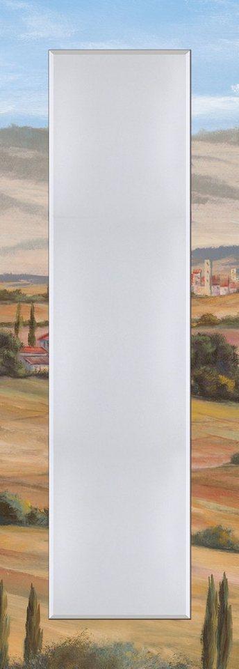 Wandspiegel, Home affaire, »A. Heins: Toskanisches Tal I«, 50/140 cm in Creme