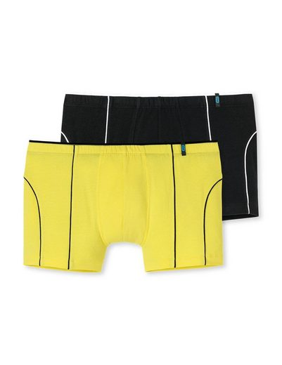 Schiesser Boxer »Herren Shorts 2er Pack - Pants, Unterhose, 95/5«