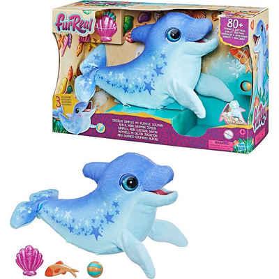 Hasbro Plüschfigur »furReal Dimples, mein lustiger Delfin, 80+«