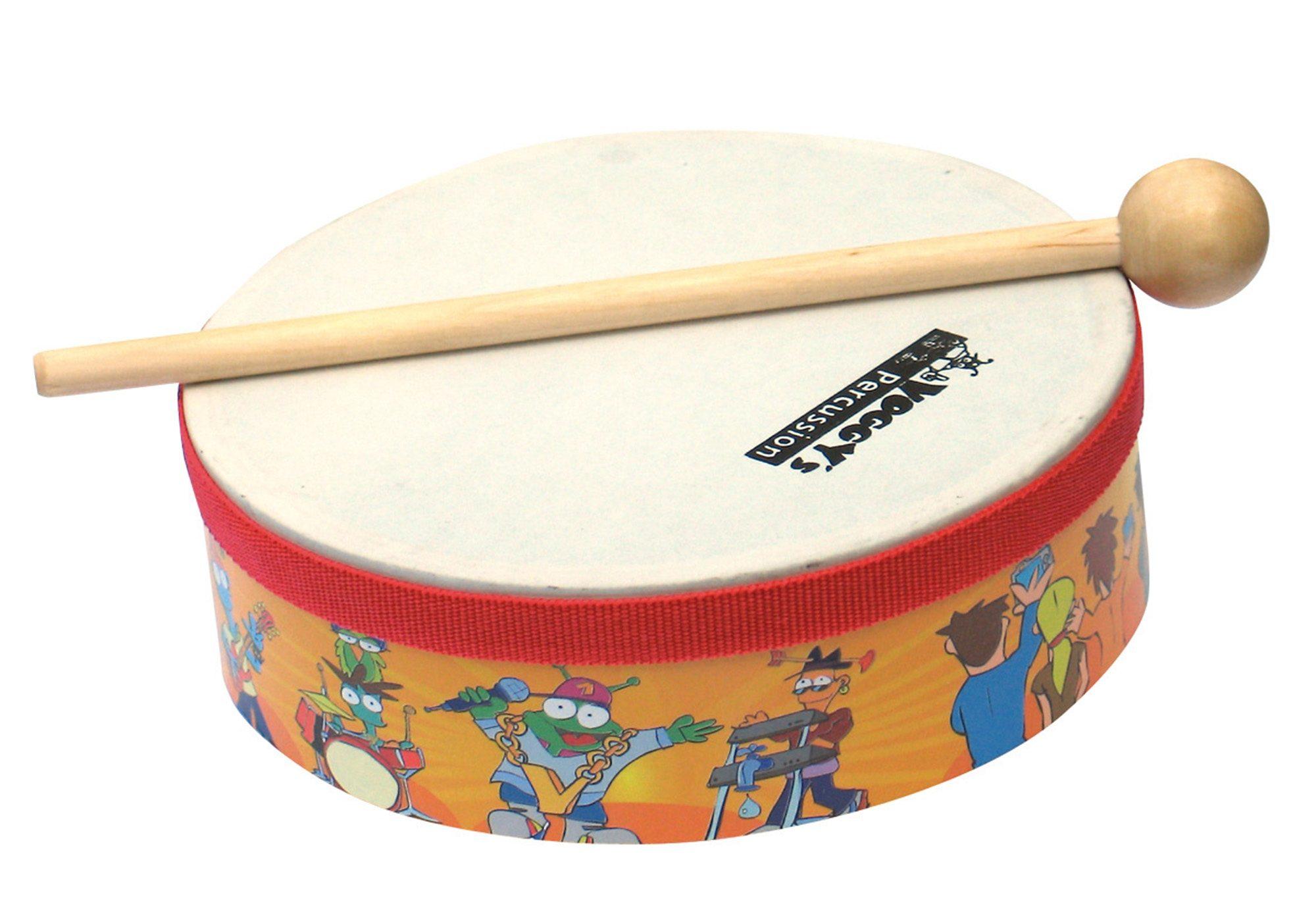 Trommel Die Krachmacher Musik Instrument Kindertrommel Spielzeug für Kinder Holzspielzeug