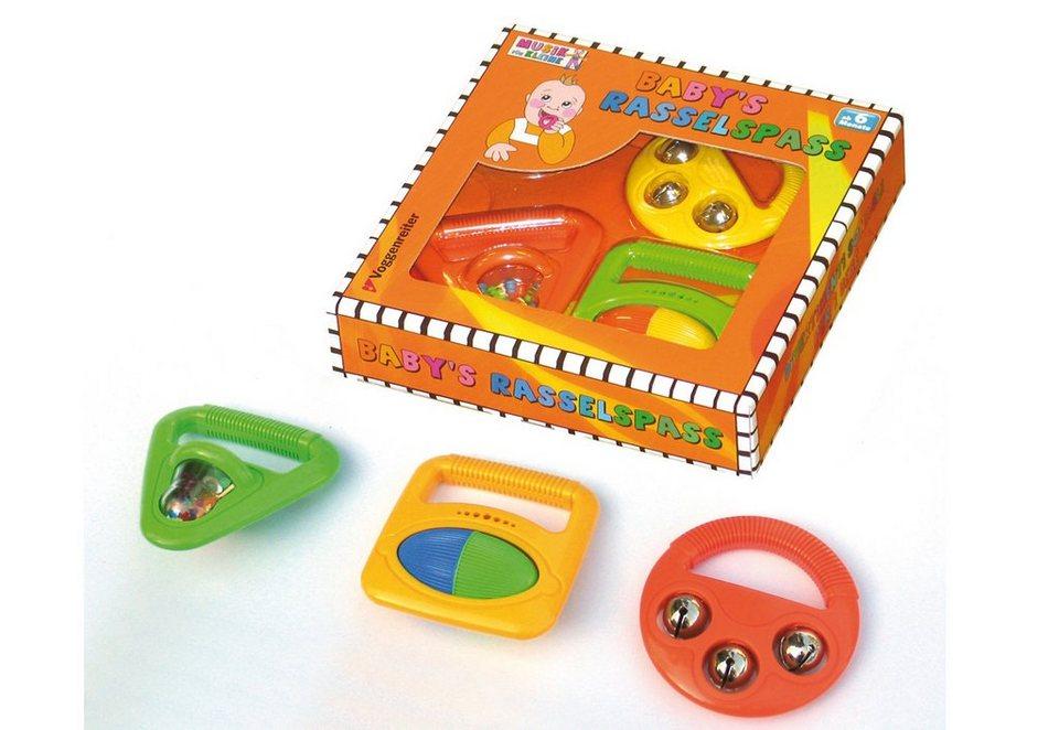 Baby-Rassel-Set, »Baby's Rasselspaß«, Voggenreiter
