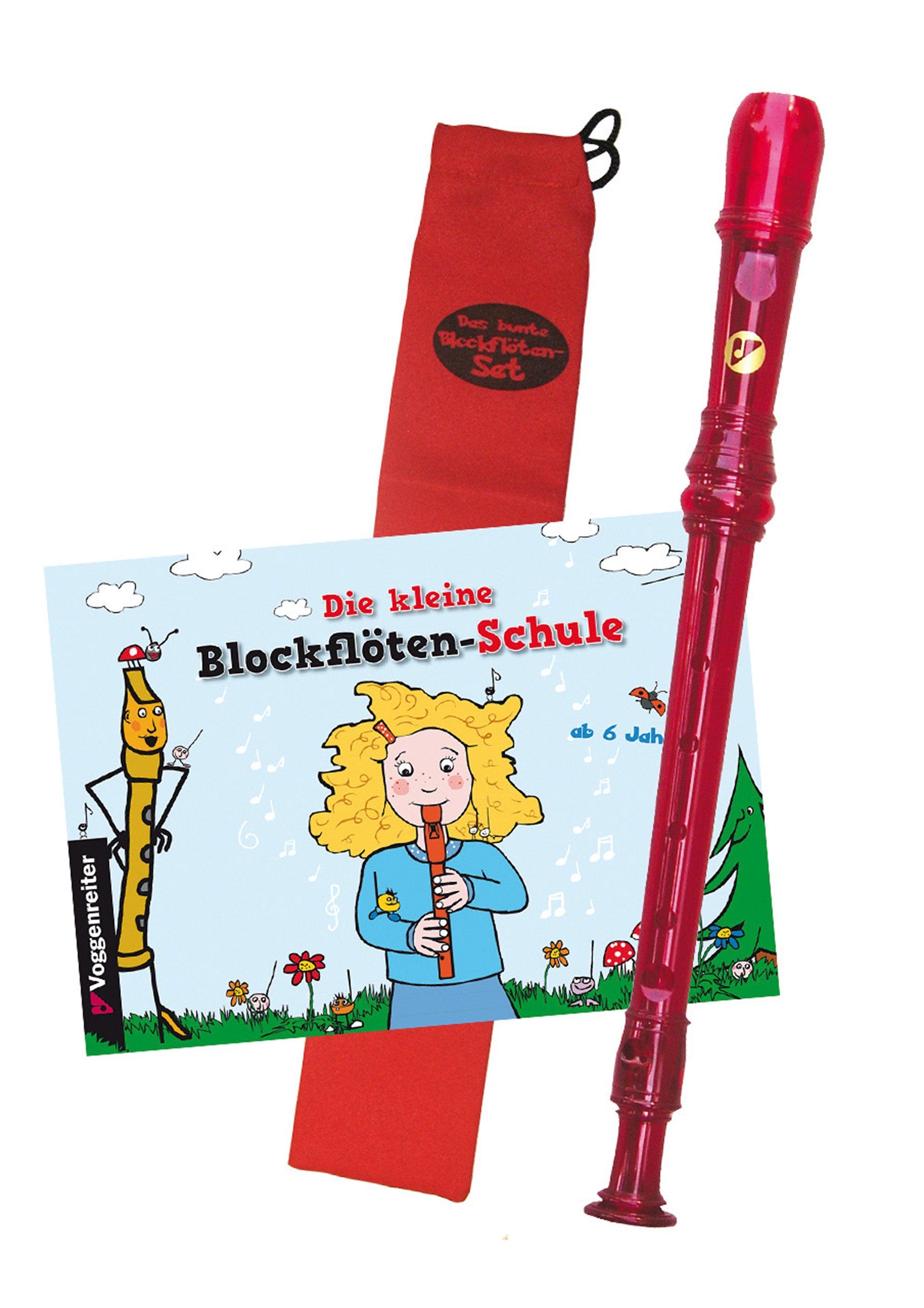 Blockflöten-Set, »Das bunte Blockflöten-Set«, Voggenreiter