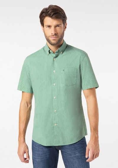 Pierre Cardin Kurzarmhemd »Hemd gestreift - Modern Fit«