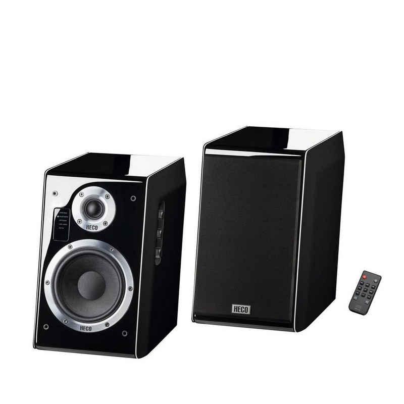 Heco Ascada 2.0 schwarz, 1 Paar Regal-Lautsprecher