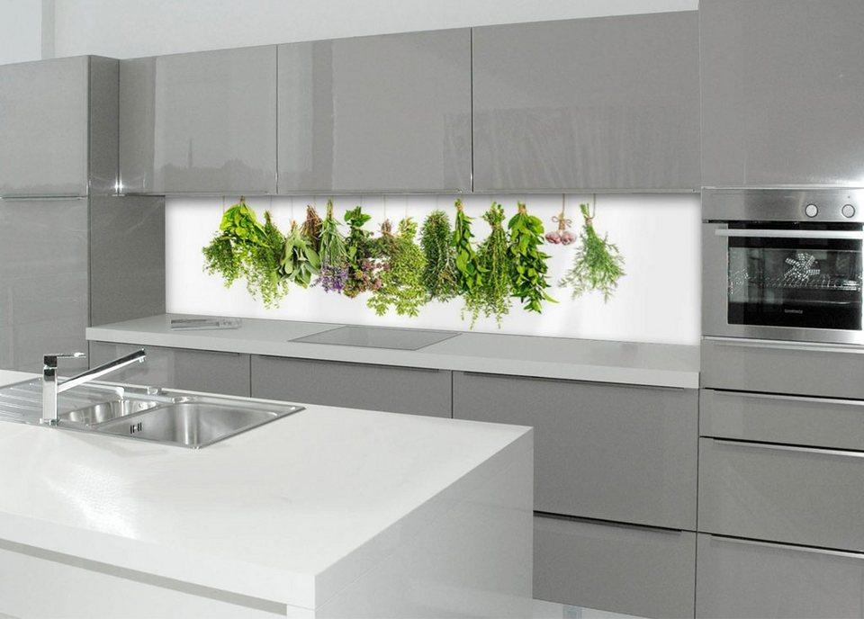 Küchenrückwand - Spritzschutz »profix«, Kräuterleine, 220x60 cm online  kaufen | OTTO