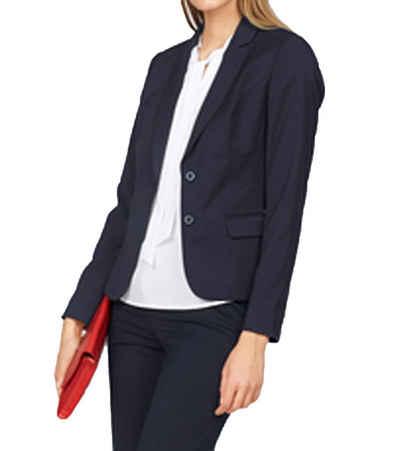 Bruno Banani Kurzblazer »bruno banani Blazer modische Damen Business-Jacke mit vielen Teilungsnähten Mode-Blazer Dunkelblau«