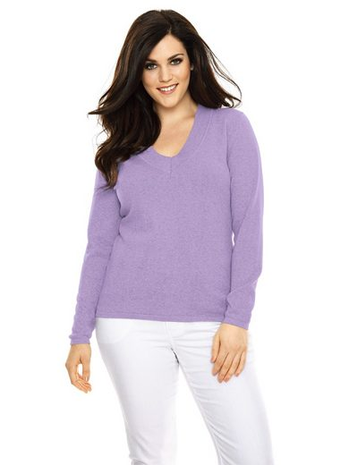 B.C. BEST CONNECTIONS by Heine V-Pullover in taillierter Form