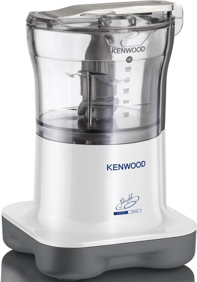 Kenwood Zerkleinerer »CH257«, 500 Watt, aus der Lafer Edition in Hochglanz-Weiß