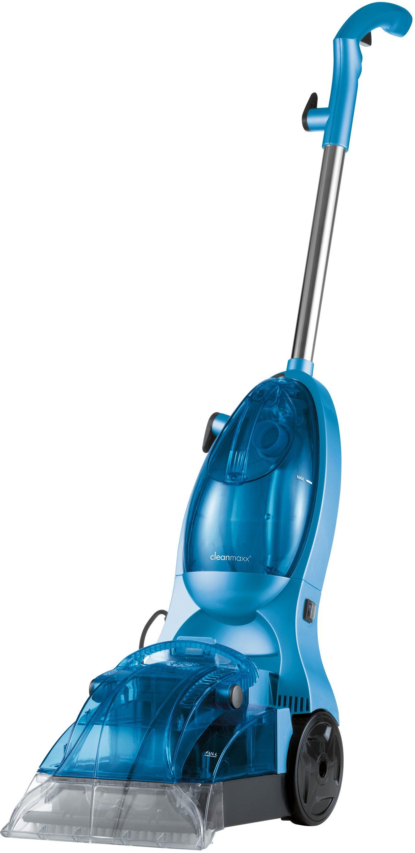 cleanmaxx Teppichreiniger eisblau inkl. 500ml Teppichshampoo