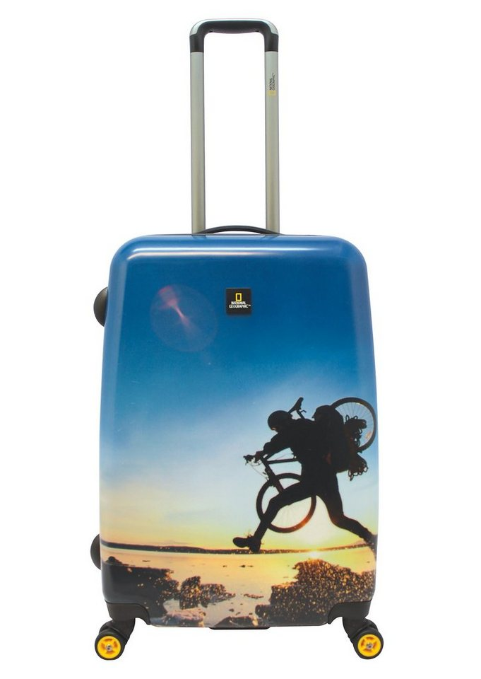 National Geographic, Trolley mit 4 Rollen, Adventure of Life, »X-Biker«