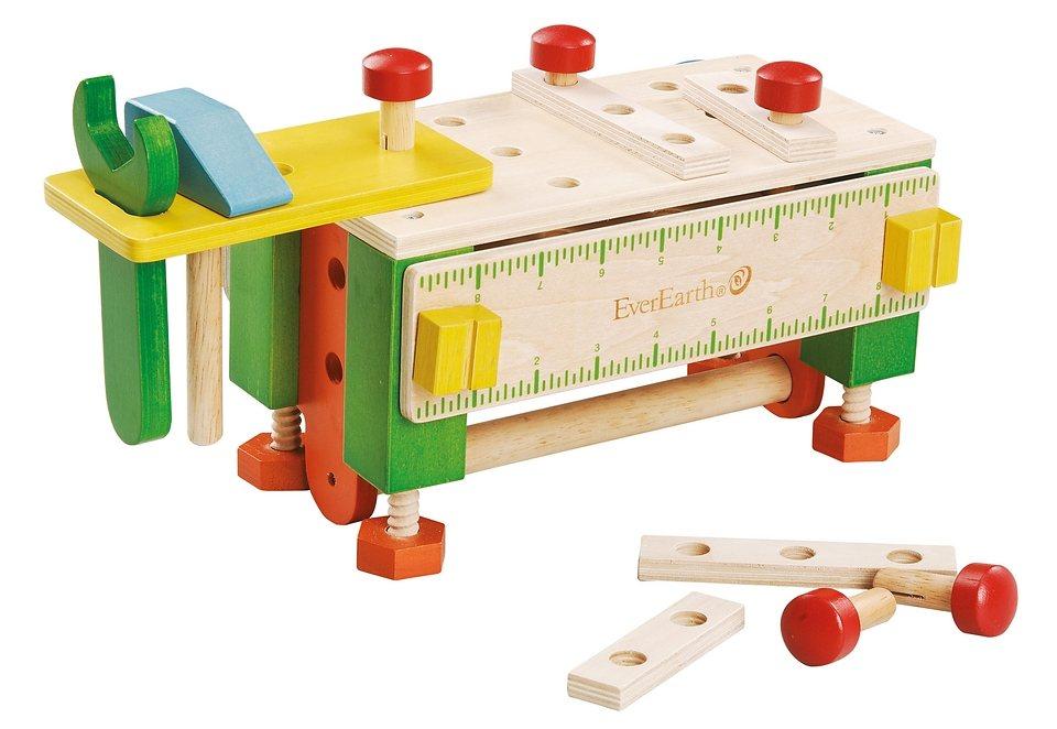 2-in-1 Werkzeugkasten und Werkbank, EverEarth®