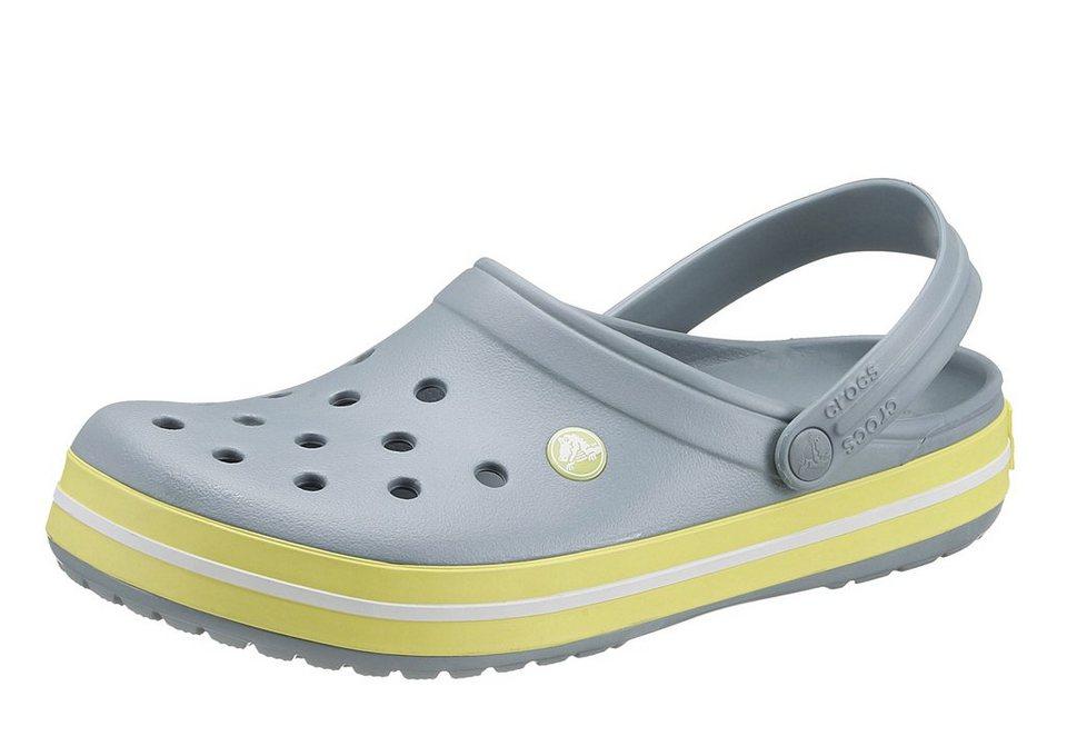 Crocs Clog in grau-gelb