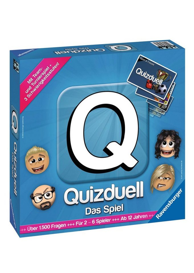 ravensburger brettspiel quizduell das spiel otto. Black Bedroom Furniture Sets. Home Design Ideas