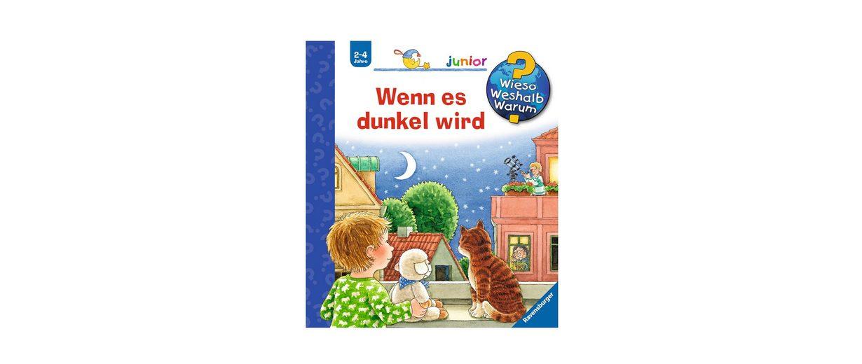 Ravensburger Kinderbuch, »Wenn es dunkel wird / Wieso? Weshalb? Warum? Junior«