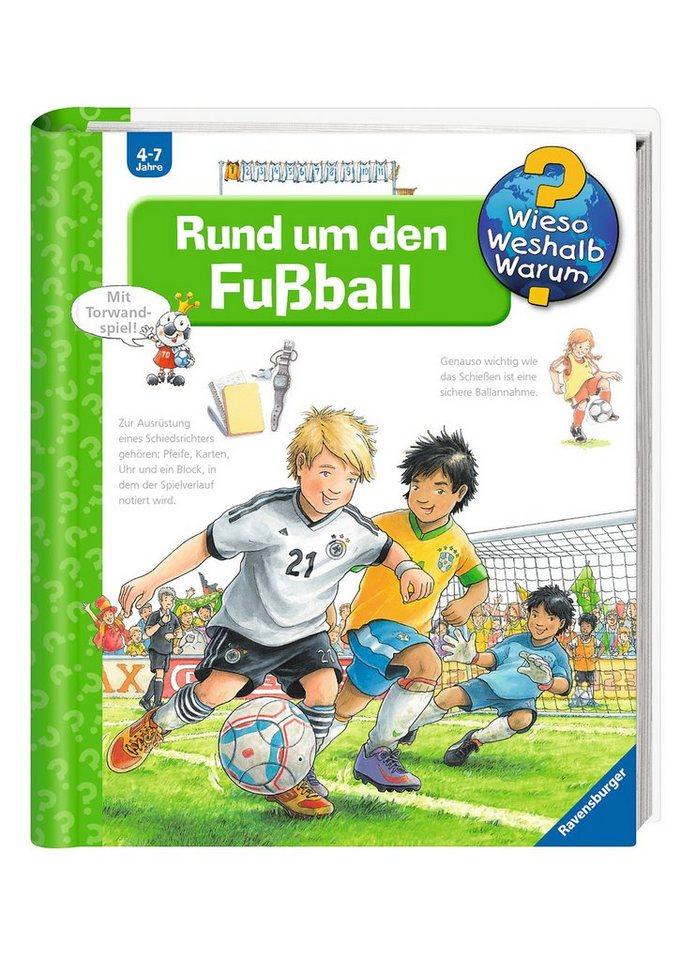 Ravensburger Kinderbuch, »Rund um den Fußball / Wieso? Weshalb? Warum?«
