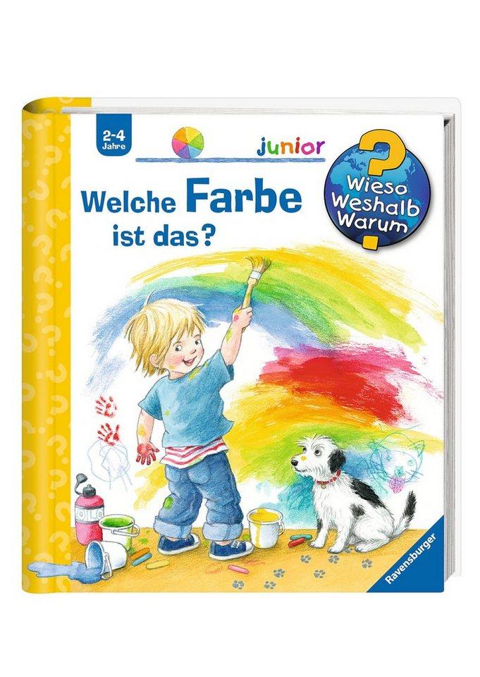 Ravensburger Kinderbuch, »Welche Farbe ist das? / Wieso? Weshalb? Warum? Junior«