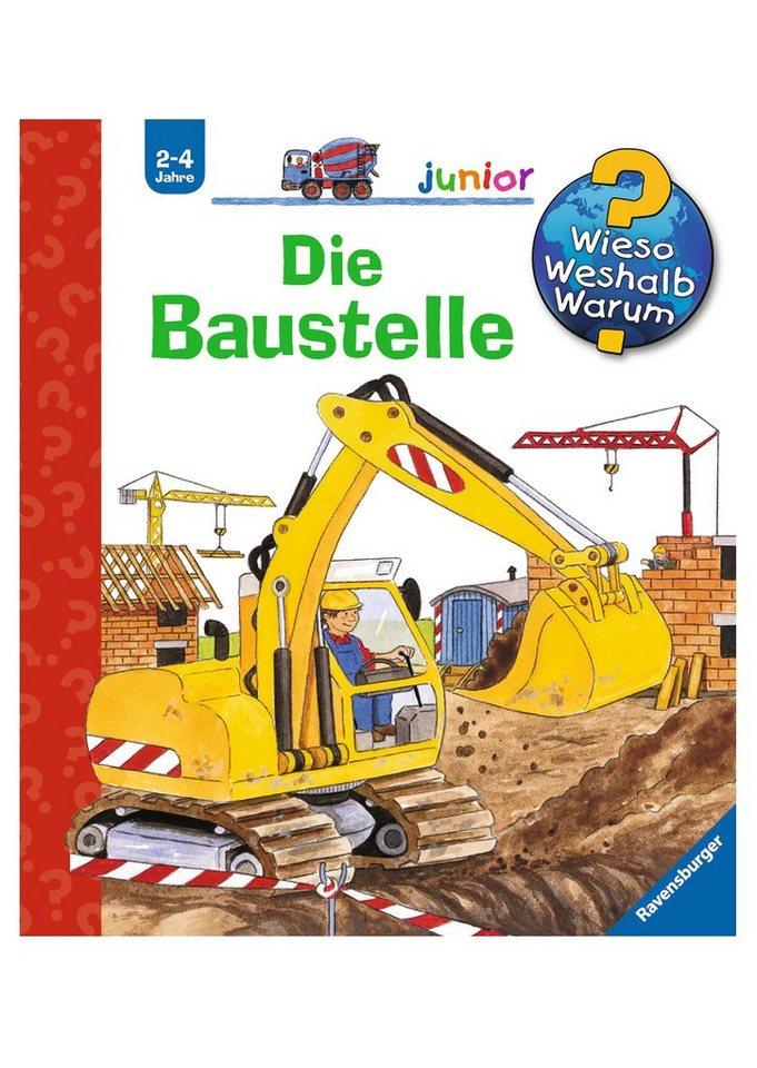 Ravensburger Kinderbuch, »Die Baustelle / Wieso? Weshalb? Warum? Junior«