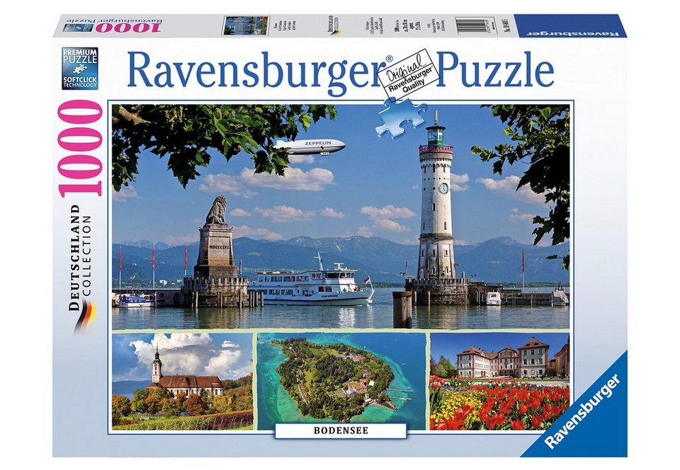Ravensburger Puzzle 1000 Teile, »Bodensee«
