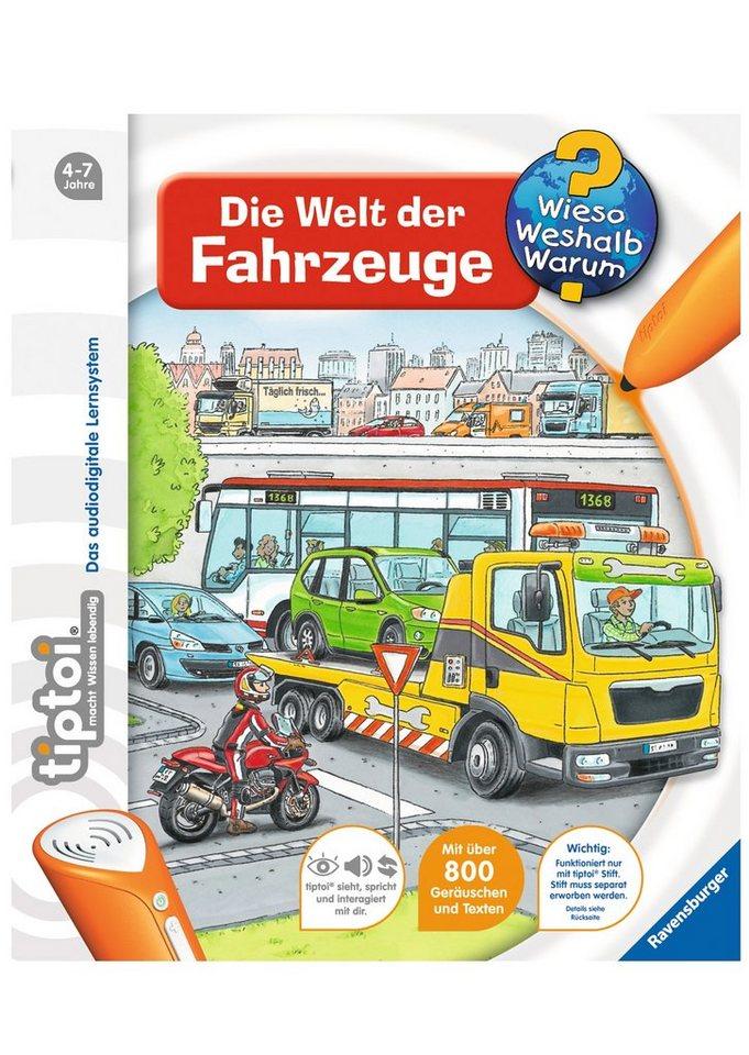 Ravensburger Buch, »tiptoi® Die Welt der Fahrzeuge«
