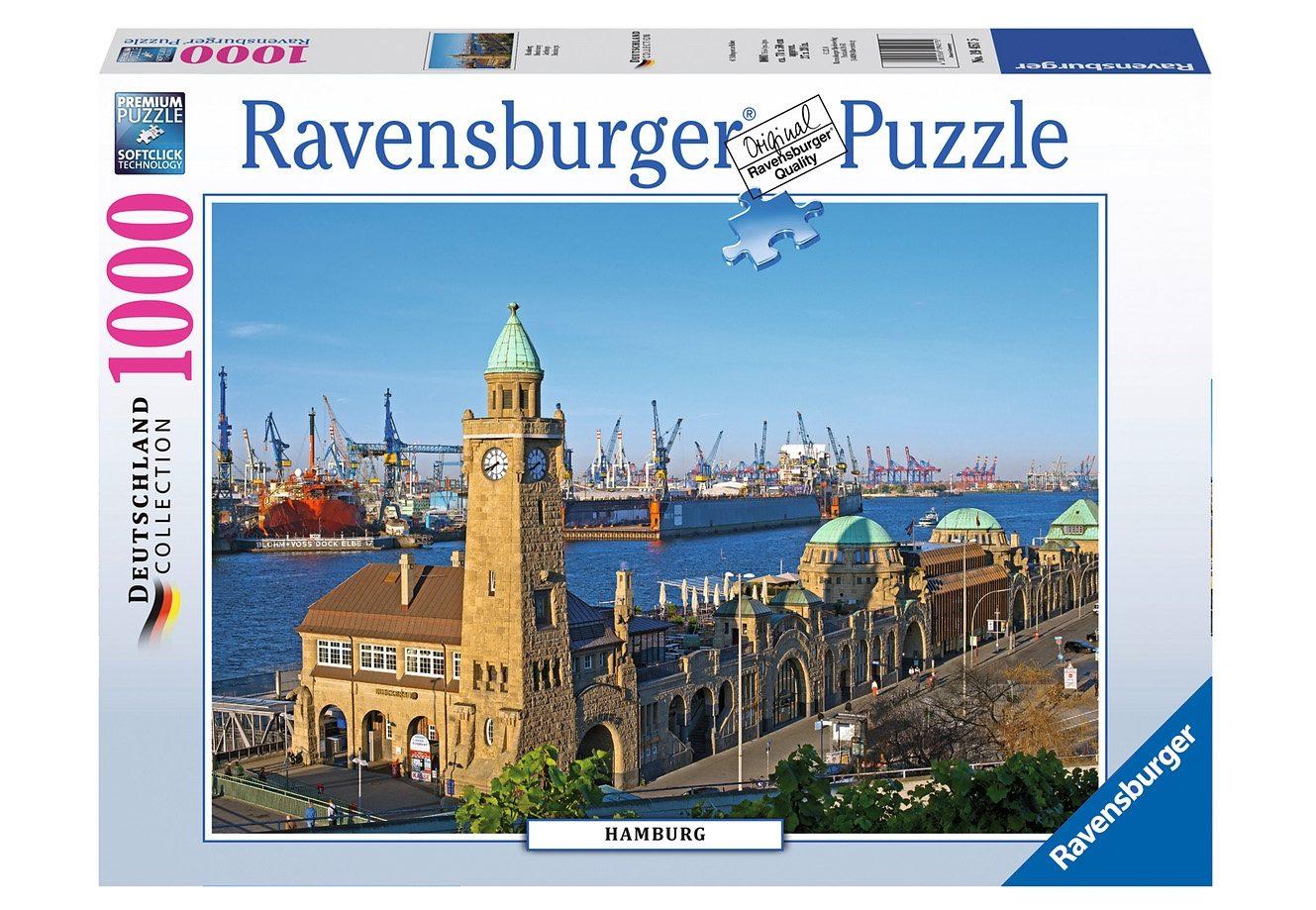Ravensburger Puzzle 1000 Teile, »Hamburg«