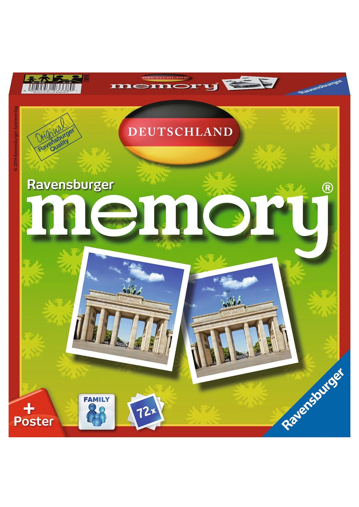 Ravensburger Memory®Spiel, »Deutschland Memory«