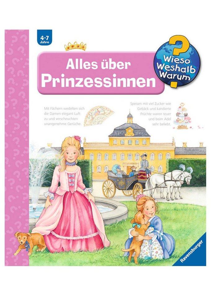 Ravensburger Kinderbuch, »Alles über Prinzessinnen / Wieso? Weshalb? Warum?«