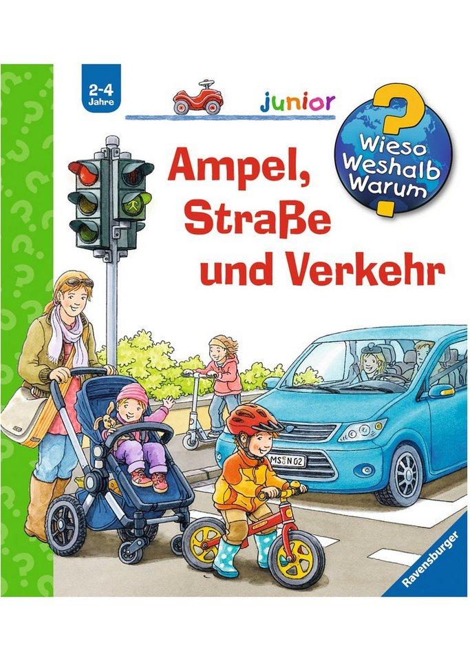 Ravensburger Kinderbuch, »Ampel, Straße und Verkehr / Wieso? Weshalb? Warum? Junior«