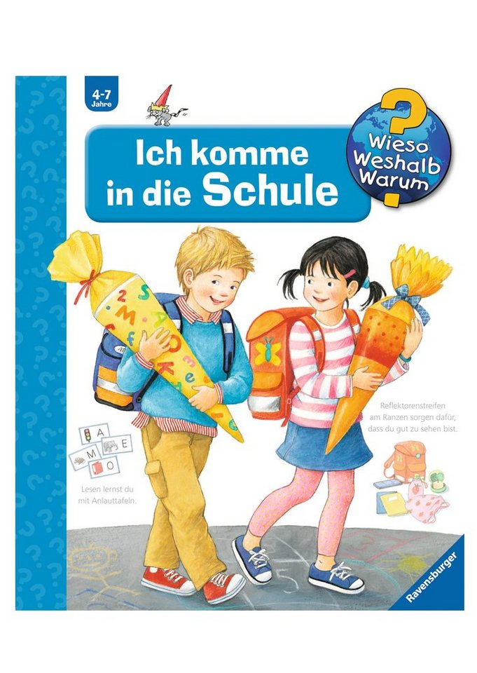 Ravensburger Kinderbuch, »Ich komme in die Schule / Wieso? Weshalb? Warum?«
