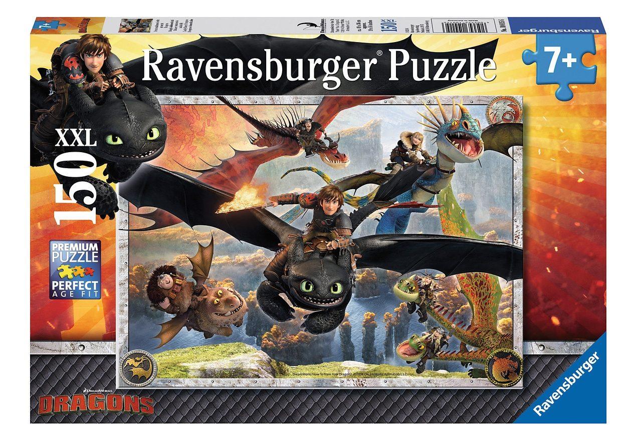 Ravensburger Puzzle 150 Teile, »Drachenzähmen leicht gemacht«