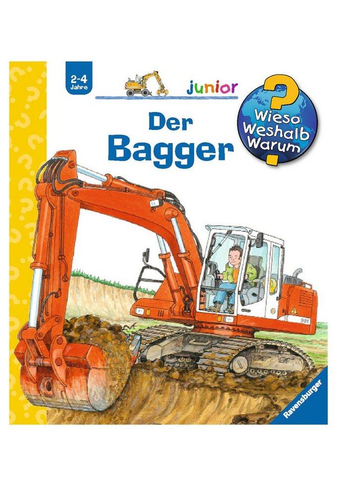 Ravensburger Kinderbuch, »Der Bagger / Wieso? Weshalb? Warum? Junior«